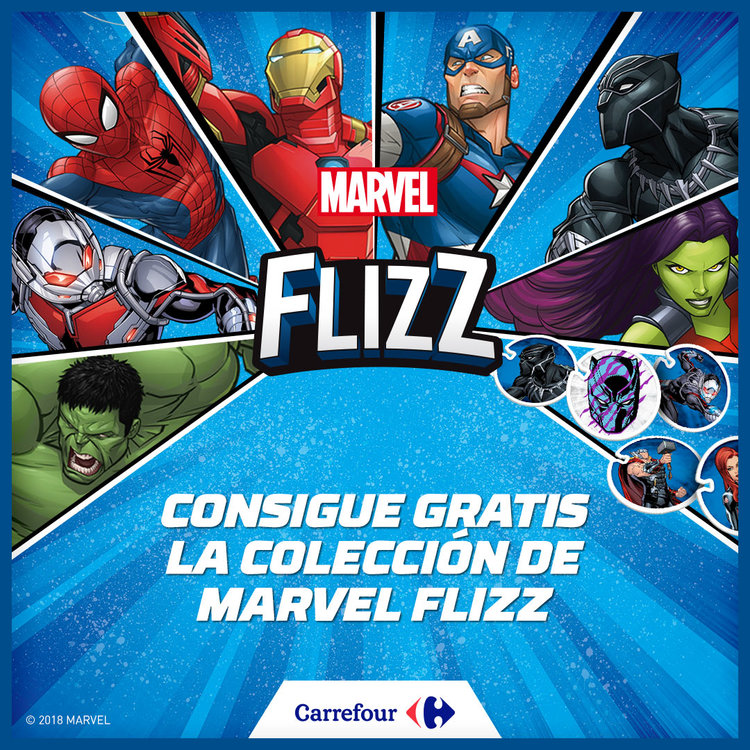 Marvel en Carrefour